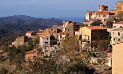 Les villages balcons en Corse