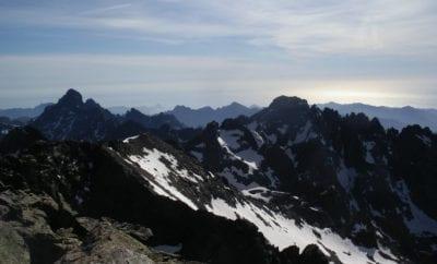 Le Monte Cinto, plus haut sommet de Corse