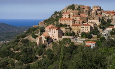 Belgodère, le village corse qui domine la Balagne
