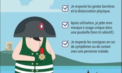 Les recommandations de l'ARS pour vos vacances en Corse durant l'épidémie de Covid-19